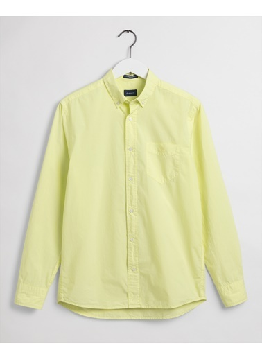 Gant Erkek Sarı Regular Fit Gömlek Sarı